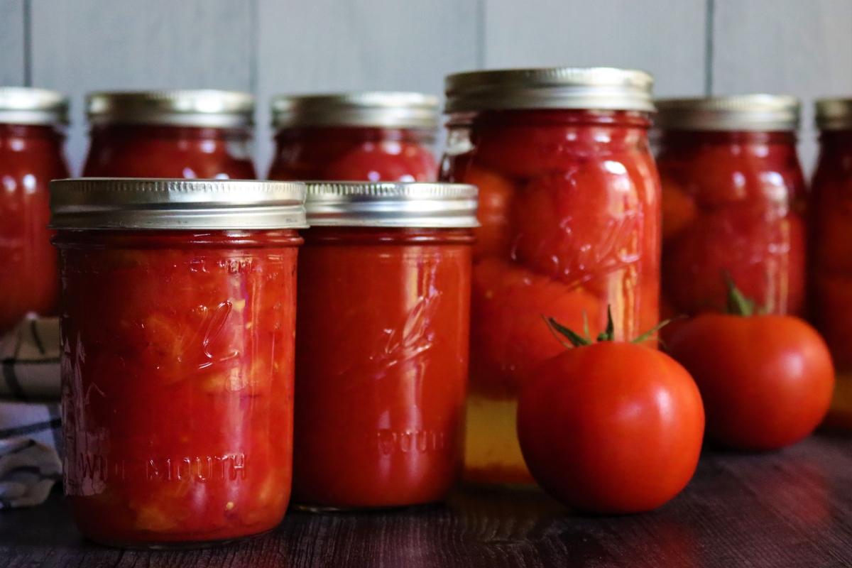 Tomato Canning Recipes