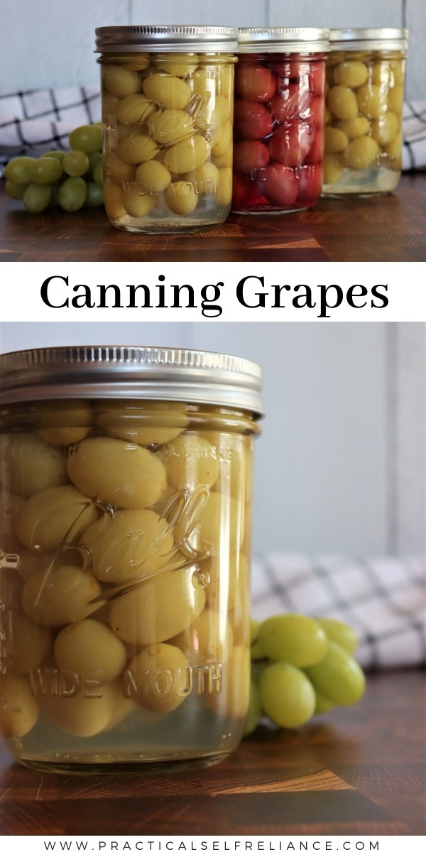 How to Can Grapes