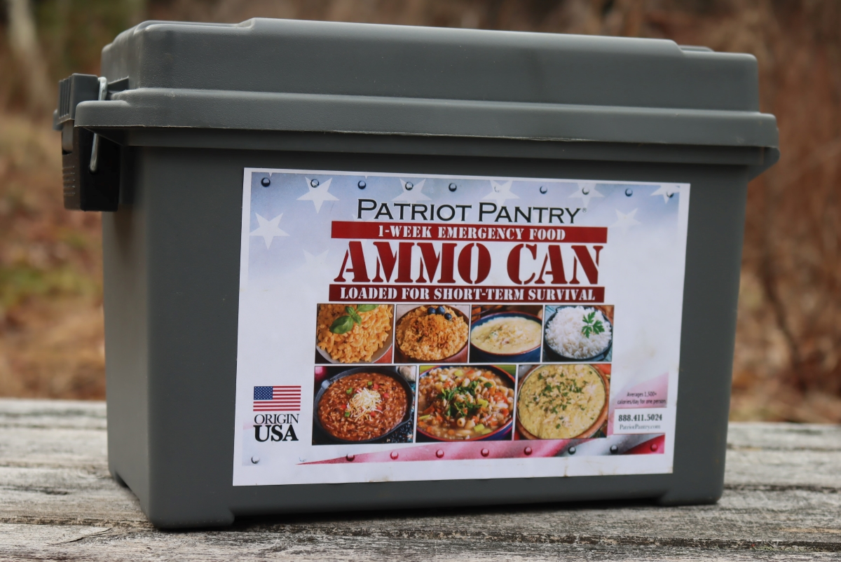 My Patriot Pantry Ammo Can