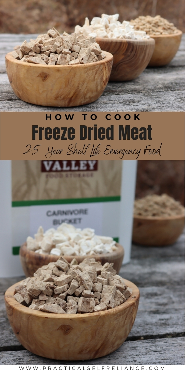 How to Cook Freeze Dried Meat