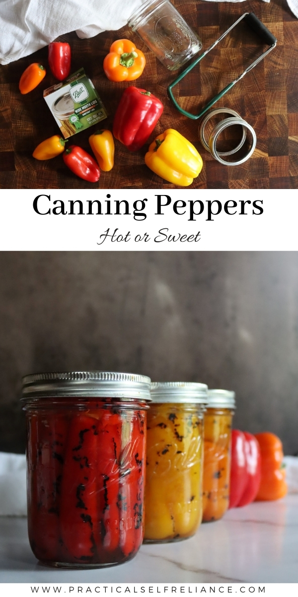 How to Pressure Can Peppers (Hot or Sweet)