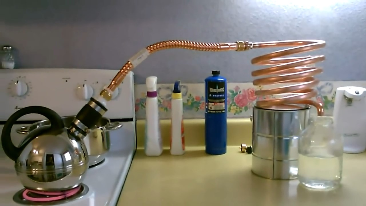 Diy Video How To Build A Simple Homemade Water Distiller