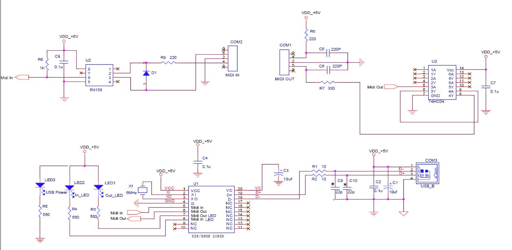 Practical Usage Page 7 Of 9 Technology Electronics And Heres A Closeup The Wah Circuit By Way Schematic For This Dongle Or Very Similar Onethanks Gerry