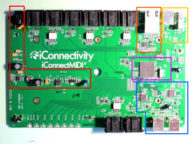 ICM4+ Main (and only) printed circuit board