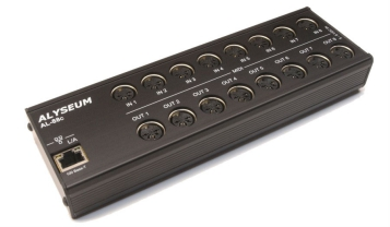 Review: Alyseum AL-88c Midi Interface - Practical UsagePractical Usage