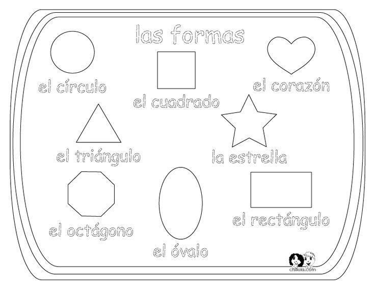 Free Printable Preschool Spanish Worksheets – Practice Worksheets