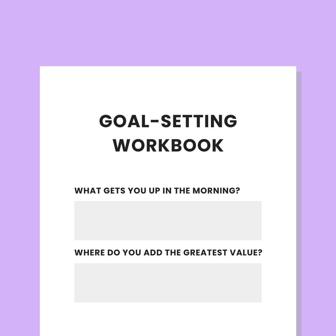 Private Practice Goal Setting Workbook Checklist