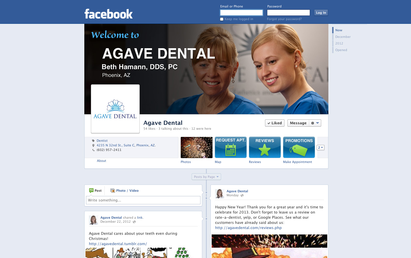 Dental Facebook Marketing