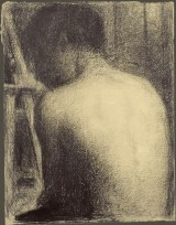 seurat boy from behind (study for bathing place)