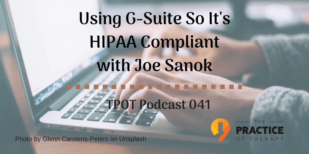 Using G-Suite for HIPPA