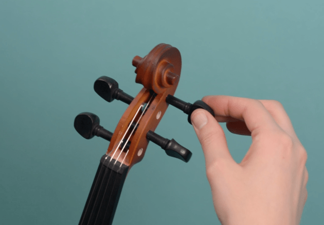 How to tune your child's violin