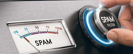 avoid sending spam