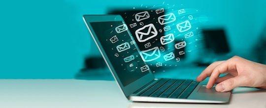 image - sending email