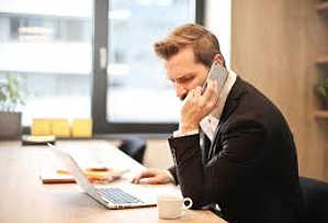 image - man on phone