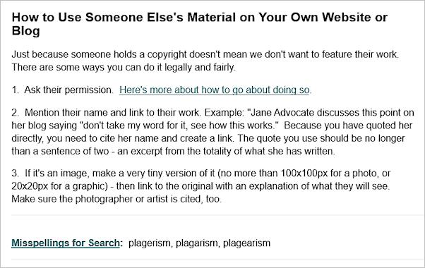 plagiarism article screenshot