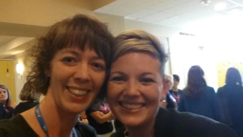 Once again I was starstruck! I met THE Lindsay Teague Moreno!