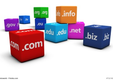 Internet Domain Name Concept