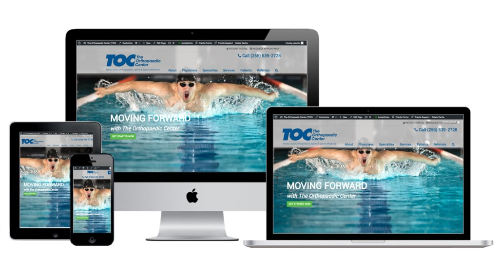 Orthopaedic Website Design