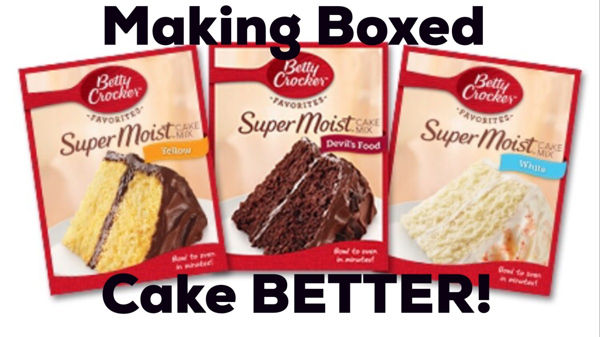 Enhance Your Boxed Cake!