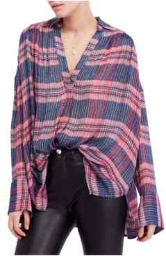 Free People Fearless Love Bell Sleeve Shirt