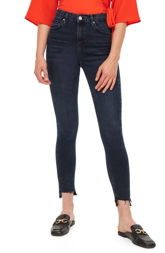 Topshop Jamie Step Hem Skinny Jeans