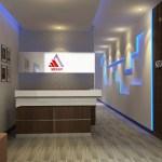 Desain interior Merapi Office by Pradana Interior