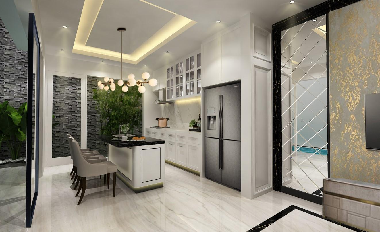 Desain Interior Rumah Klasik Jakarta 2