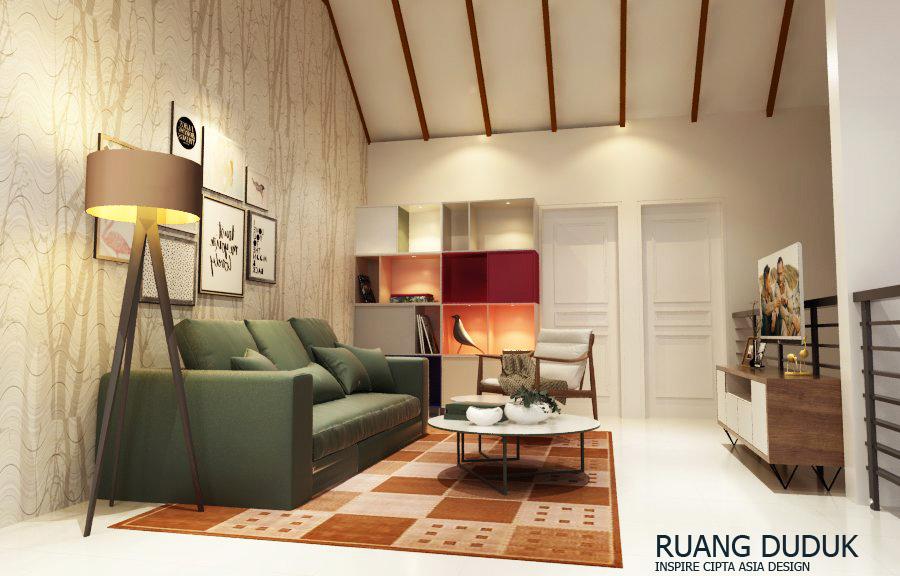 Interior Rumah Minimalis Modern - Living Room , Ruang Tamu 2
