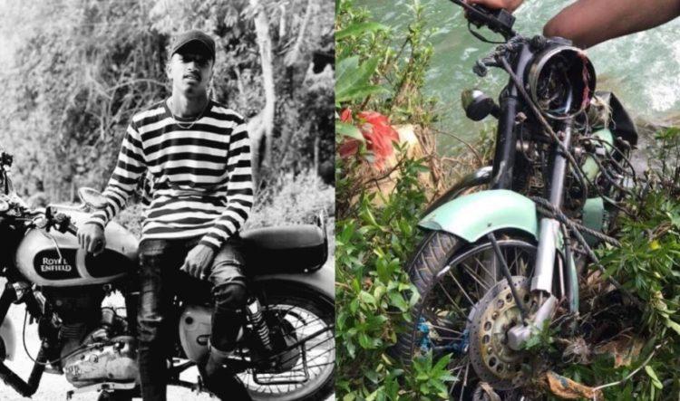 भालुपहाडबाट बुलेट बाइकसँगै खसेका युवाको शव फेला