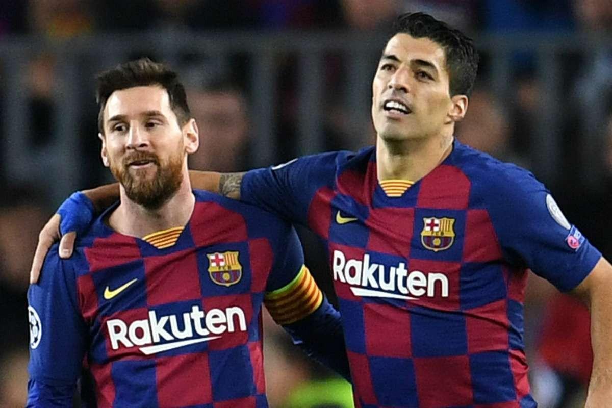 बार्सिलोनाले मेस्सीसंगको सम्बन्धका कारण आफुलाई क्लब बाहिर पठाएको हो : लुइस सुआरेज