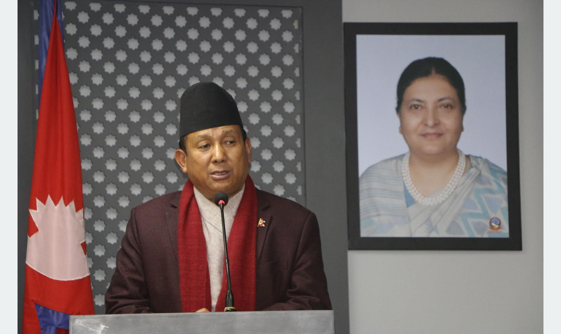 चुनावको घोषणा असंवैधानिक हुन सक्दैन : मन्त्री गुरुङ