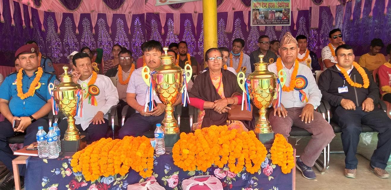 रतुवामाईमा १३ औँ संस्करणको राष्ट्रपति रनिङ शिल्ड प्रतियोगिता शुरु