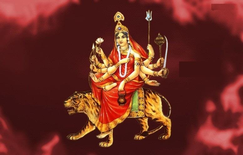 नवरात्रको तेस्रो दिन ः चन्द्रघण्टा देवीको पूजा आराधना