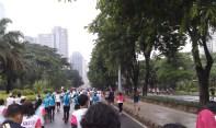 Running from Senayan to Semanggi