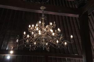 lampu gantung pendopo kabupaten banyumas
