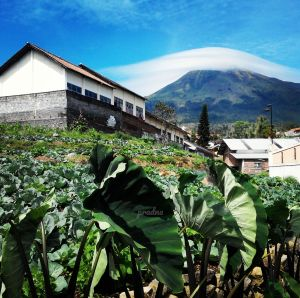fotografi tudung awan gunung sindoro