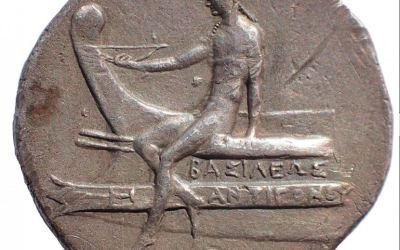 Kings of Macedon Antigonos III Doson. 229-221 BC silver Tetradrachm