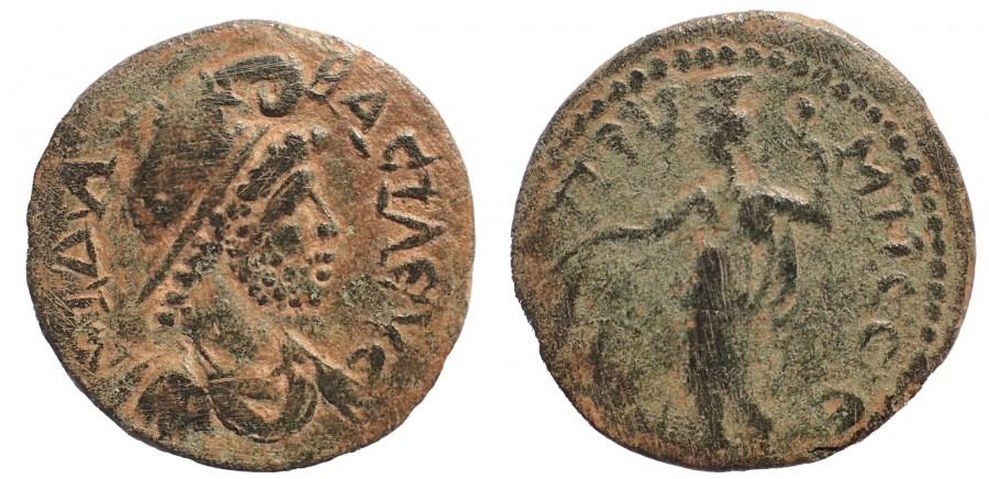 Phrygia. Prymnessus. Pseudo-autonomous. Time of Gallienus ( AD 253-268). Ae. 22 mm. 6.1 gm.