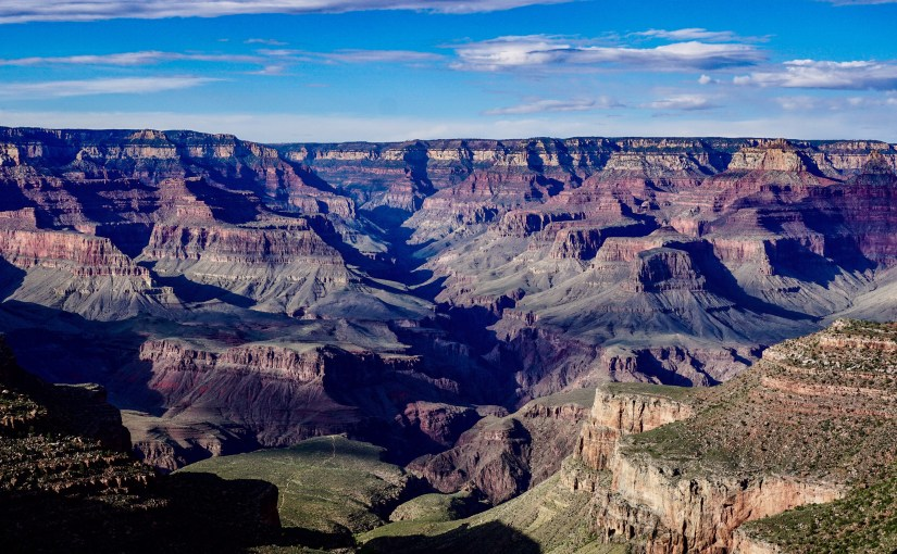 Grand Canyon – first view