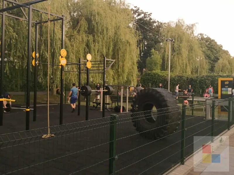 Sportbereich in Zluty Lazne