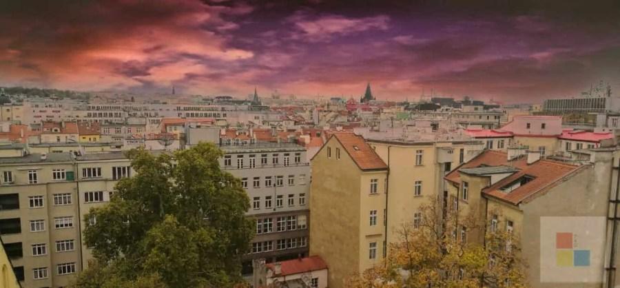 Aussicht über Prag