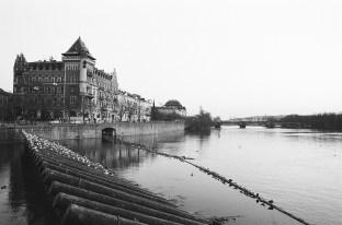 Blick auf die Moldau