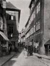 Josefská třída, 1902. Retuschierte Fotografie Jindřich Eckert. © Národní knihovna ČR. https://goo.gl/9EblAe
