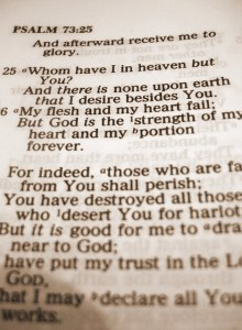 psalm 73 25 and 26