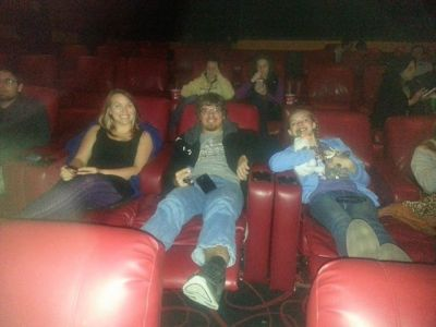 FavoriteSon PinkGirl movie theater recliners
