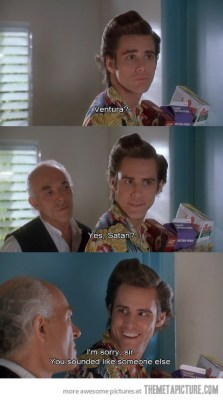 Ace Ventura Recognizing the Voice of Truth