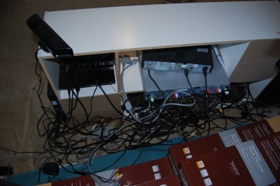 game room cord chaos