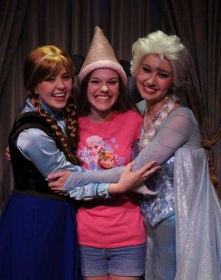 PinkGirl and Anna and Elsa May 30th