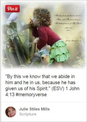 1 John 4 13 little girl and dove pinterest