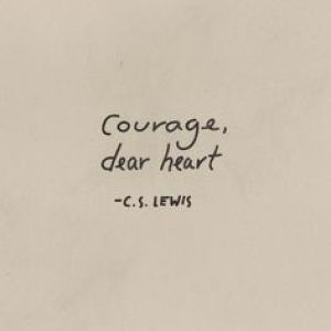 Courage Dear Heart C S Lewis